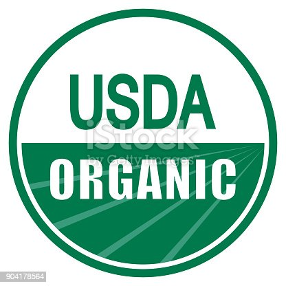 istock USDA organic shield sign 904178564