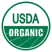 USDA organic shield sign