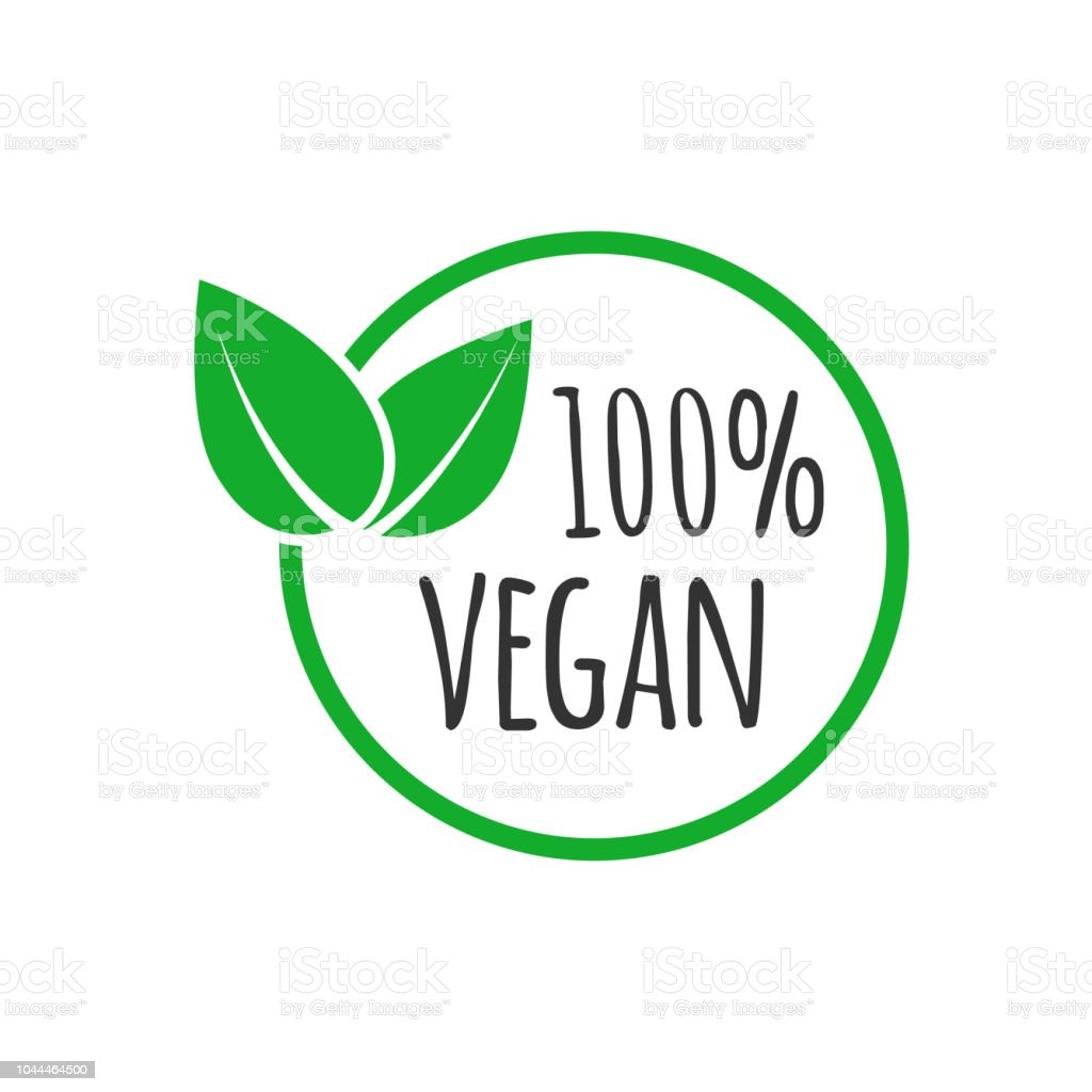 organic vegan design template raw healthy food badge stock vector