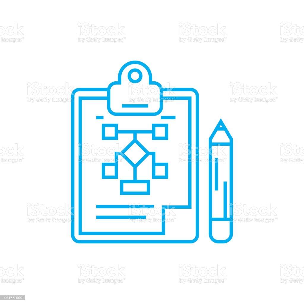 Ilustración De Concepto De Estructura Organizacional