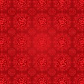 Vector illustration of Oriental Chinese Pattern