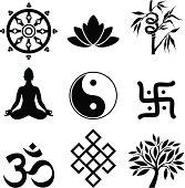 Variable symbols of oriental culture