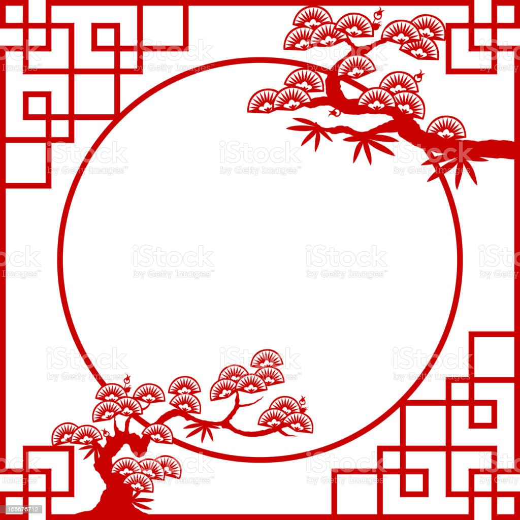 Oriental Frame Stock Vector Art Amp More Images Of 2010