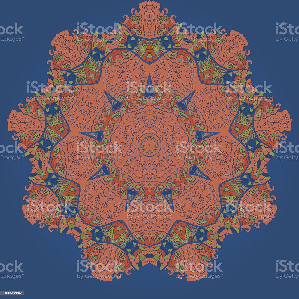 Oriental mandala motif royalty-free oriental mandala motif stock vector art & more images of abstract
