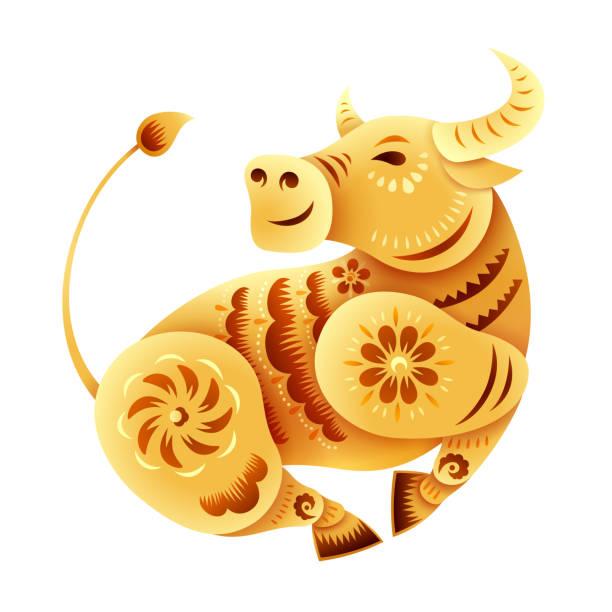 2,718 Golden Ox Illustrations & Clip Art - iStock