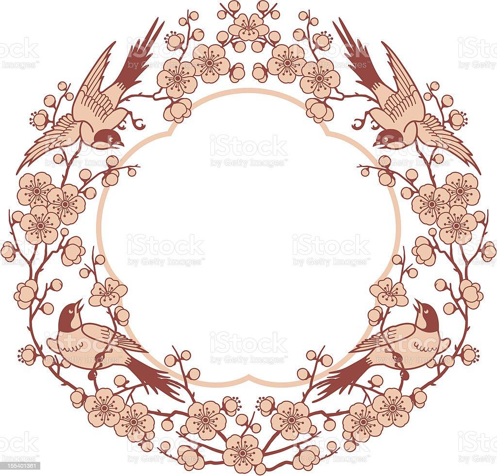 Oriental Pattern Frame royalty-free oriental pattern frame stock vector art & more images of award ribbon