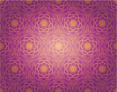 Seamless floral pattern in oriental style.