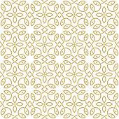 oriental seamless ornamental pattern