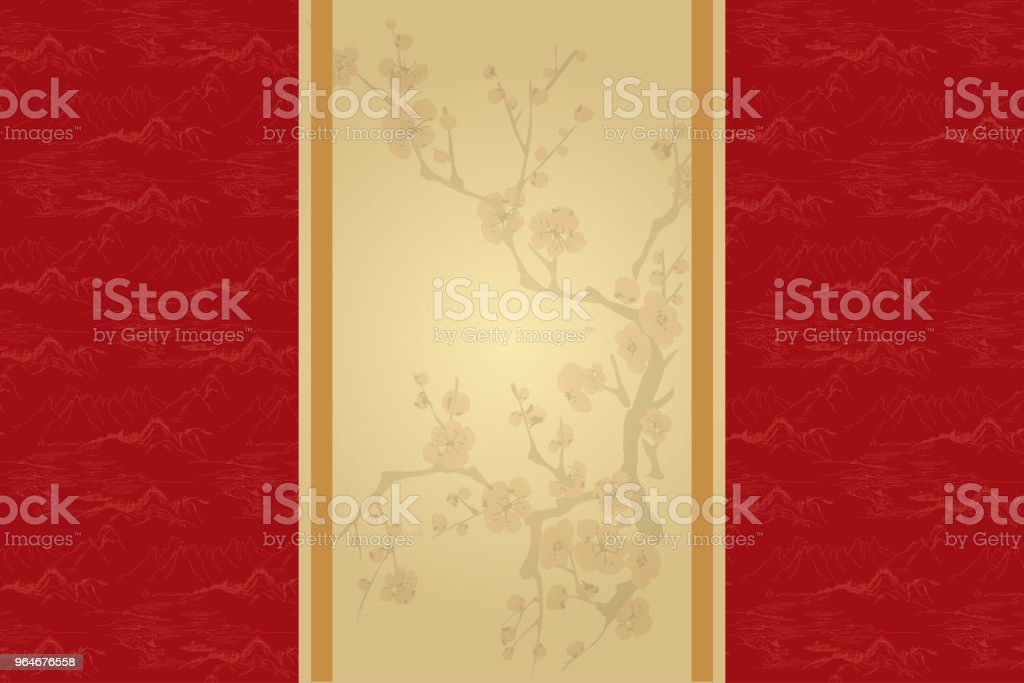 Oriental Retro Background royalty-free oriental retro background stock vector art & more images of ancient