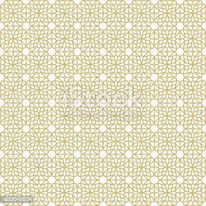 Oriental Seamless Pattern - Illustration. Global colour used.