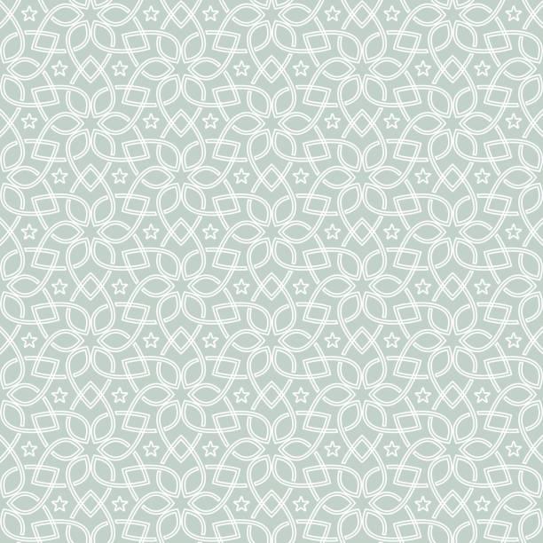 orientalny wzór bez szwu. bezszwowa geometryczna konstrukcja kwiatowa - kultura portugalska stock illustrations