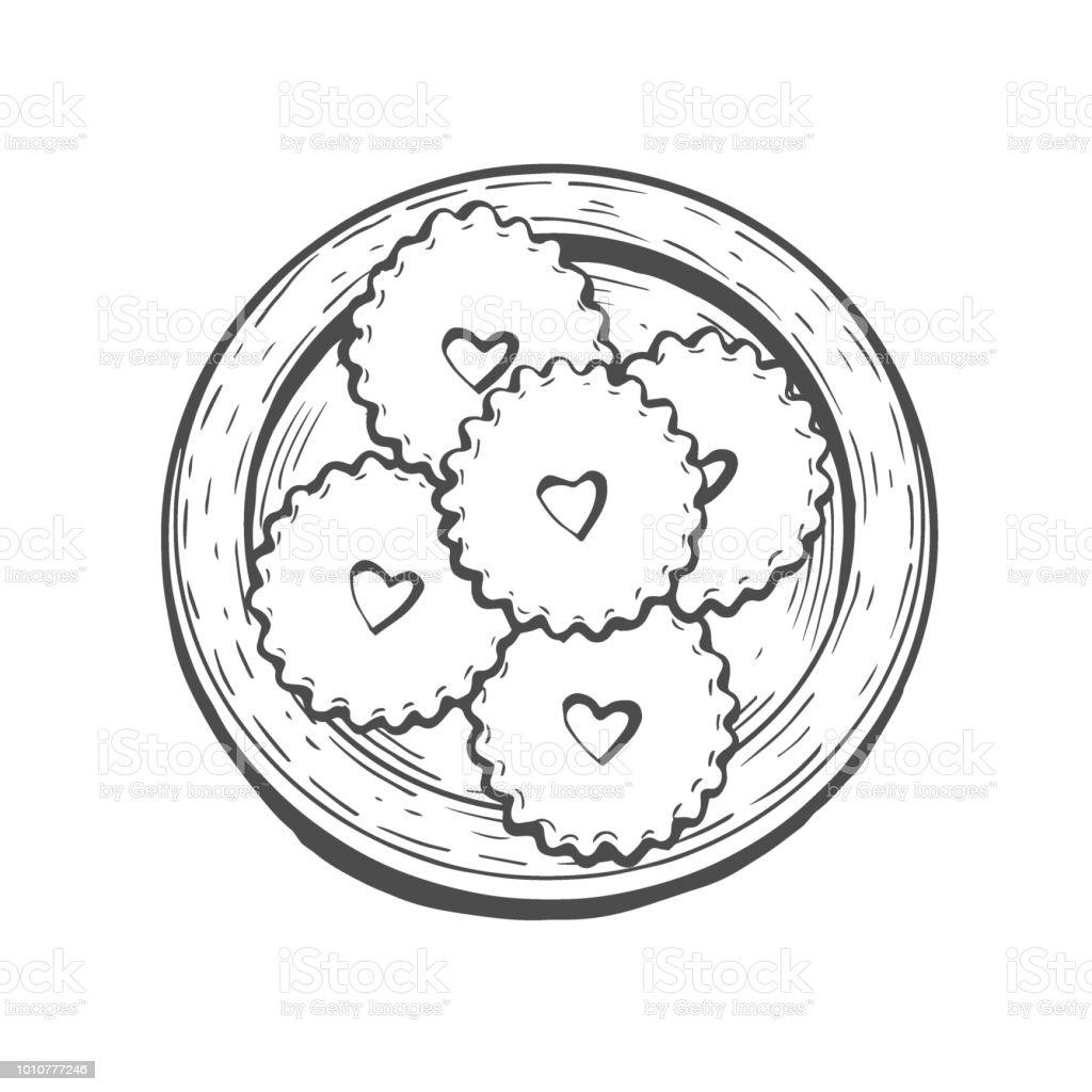 Oriental sweets vector vector art illustration