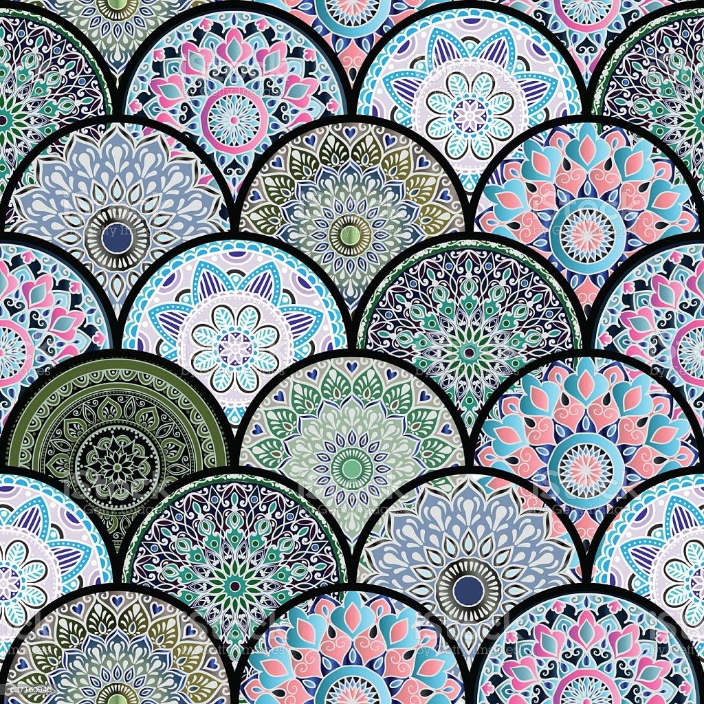 Oriental Carrelage Motif Uniforme Vecteurs Libres De Droits Et Plus D Images Vectorielles De Art Deco Istock