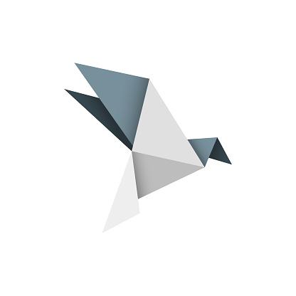 Origami bird design