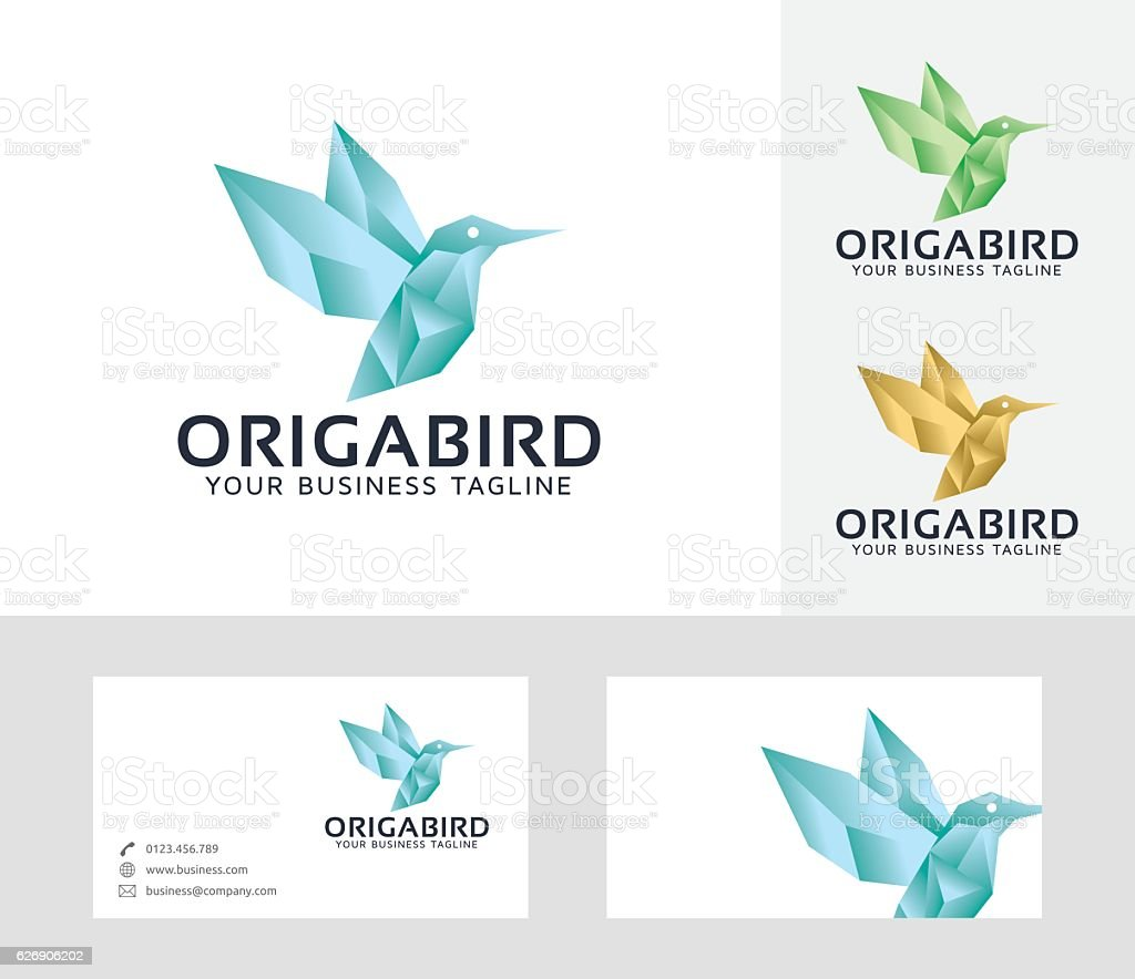 Origami Bird Vector Logo Stock Vector Art & More Images of ... - photo#27