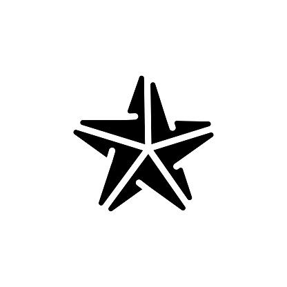 Origami icon in vector. Logotype