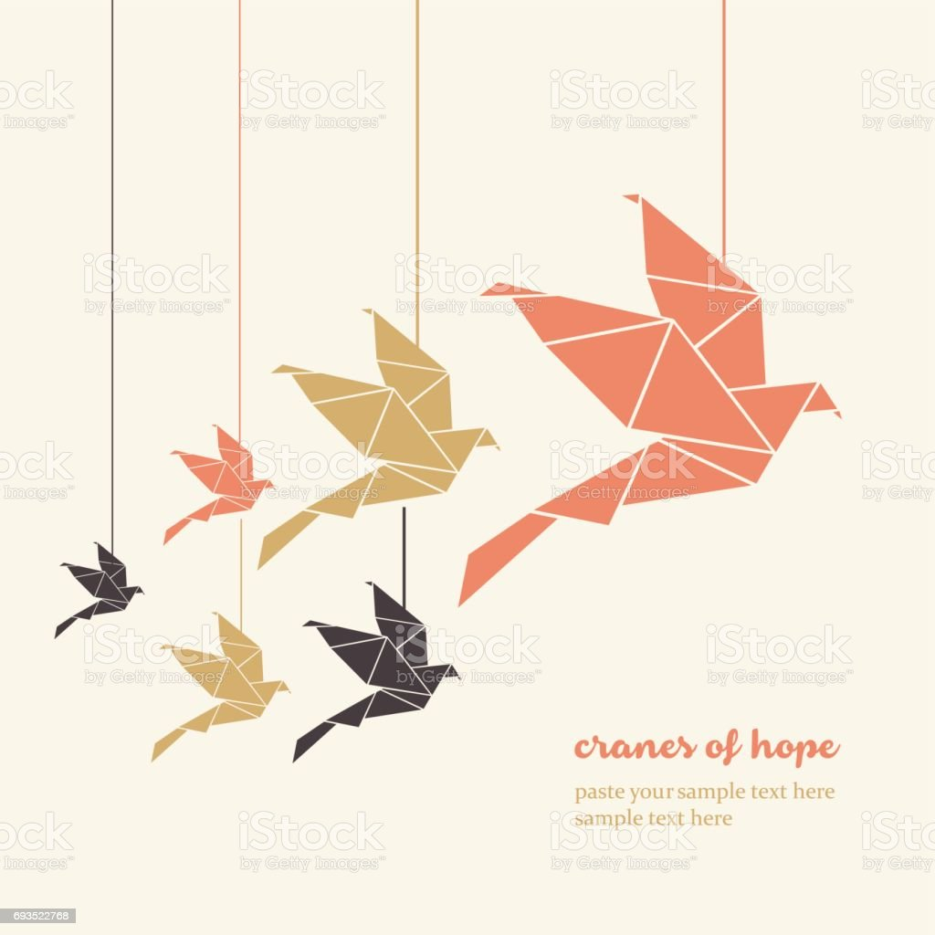 1,000 cranes, with a twist! : origami_club — LiveJournal   1024x1024
