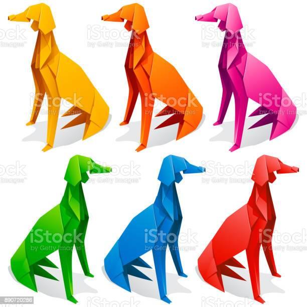Origami paper dog set vector id890720286?b=1&k=6&m=890720286&s=612x612&h=vvtuuq96eeclhwf 7csnamvh2pejozwlk40oserajiw=