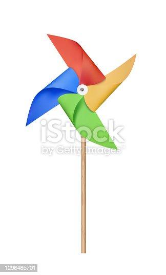 istock Origami Paper Windmill 1296485701