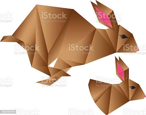 Origami rabbit vector id532467575?b=1&k=6&m=532467575&s=612x612&h=snbn8qfl8tbe8qai0g1r5or4aknvpc1bic9iblx8opm=