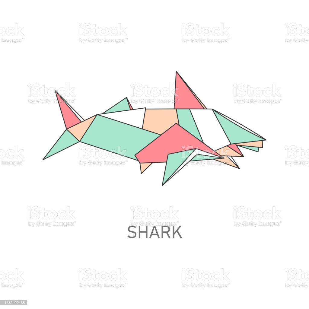 Easy Origami Shark - Origami Easy Tutorial. How to make an origami ... | 1024x1024
