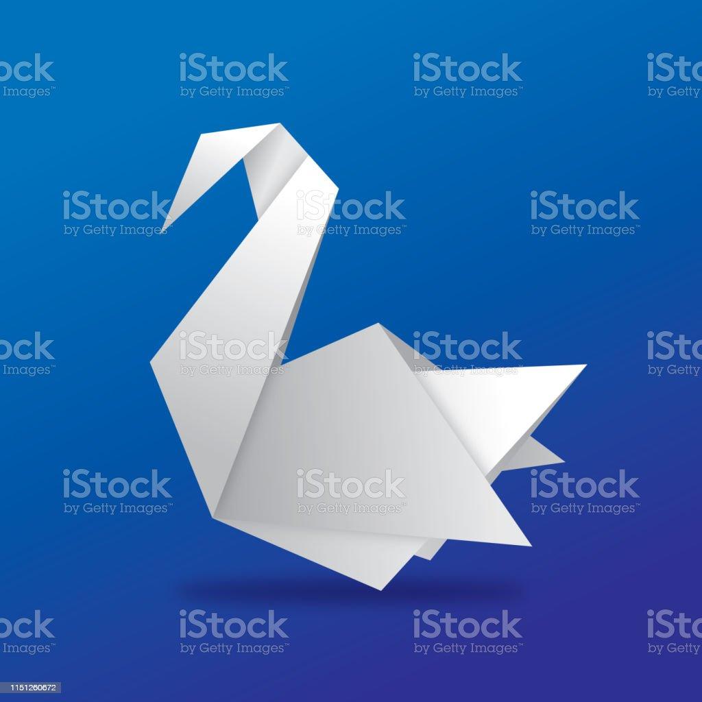 Origami Swan - YouTube | 1024x1024