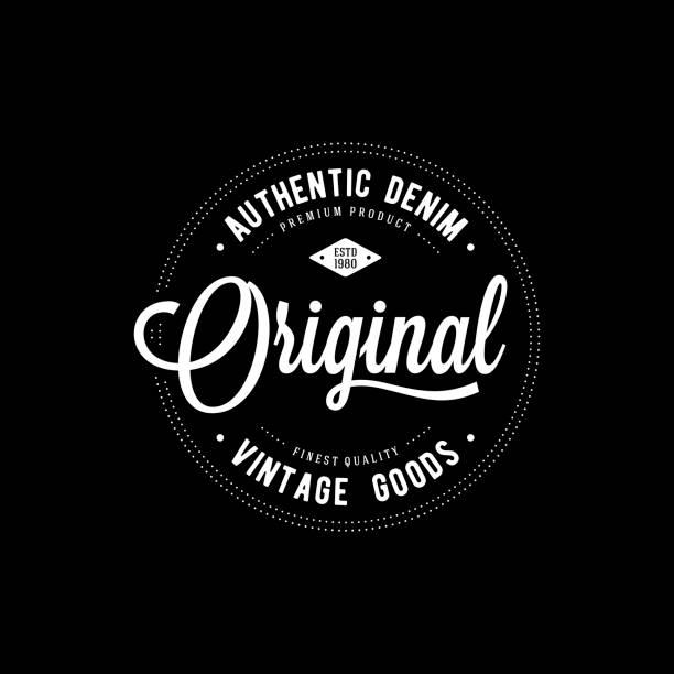 Impresión original ropa - ilustración de arte vectorial