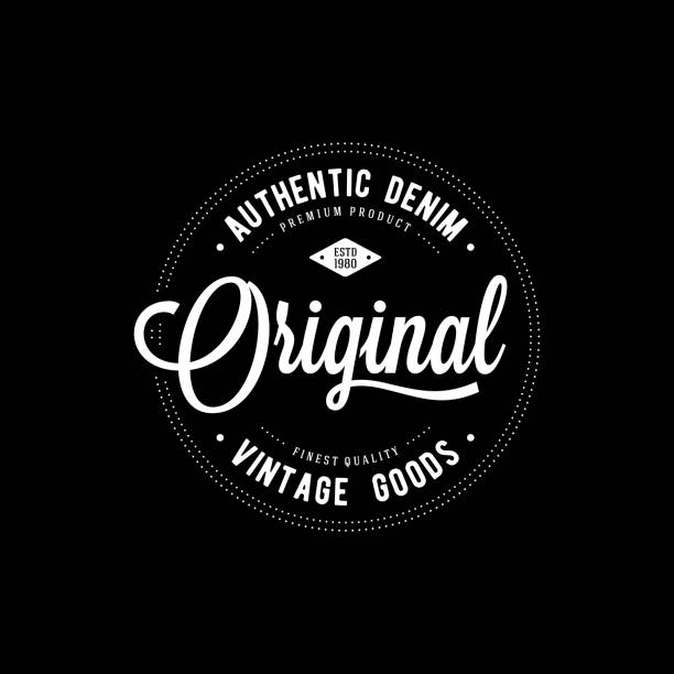 original apparel print - vintage fashion stock illustrations, clip art, cartoons, & icons