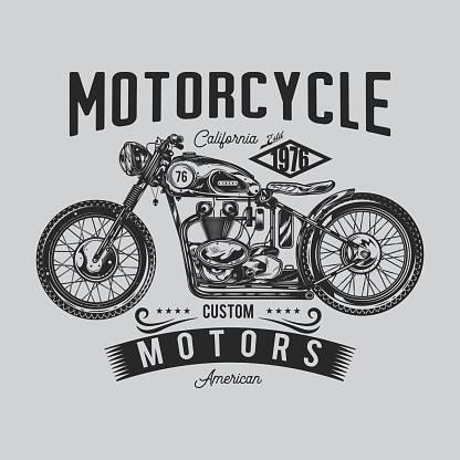 Original vector illustration in retro style.