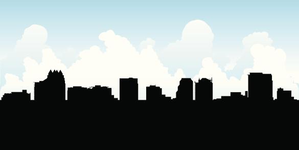 Orlando Skyline Silhouette