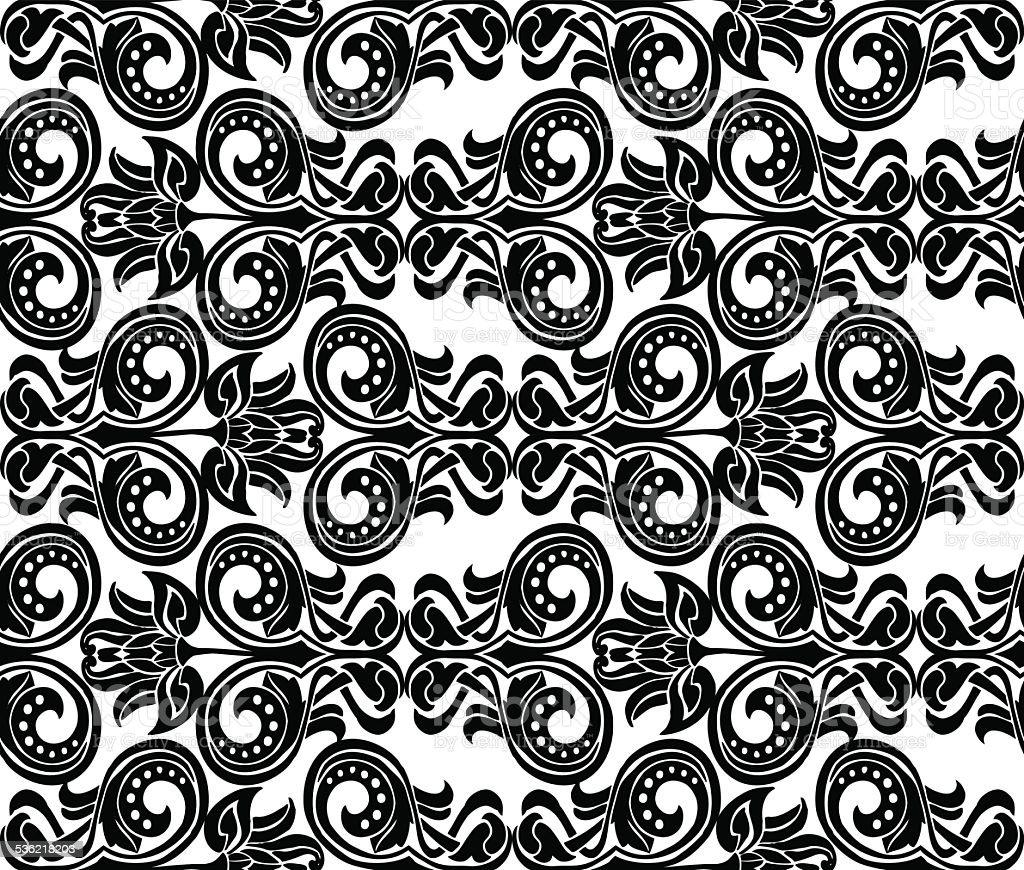 ornament  Art Nouveau vector art illustration