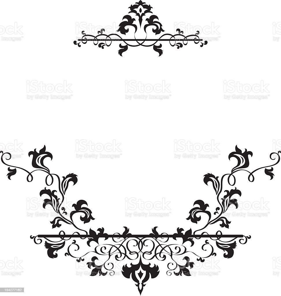 Ornament Rahmen Stock Vektor Art und mehr Bilder von Ast ...