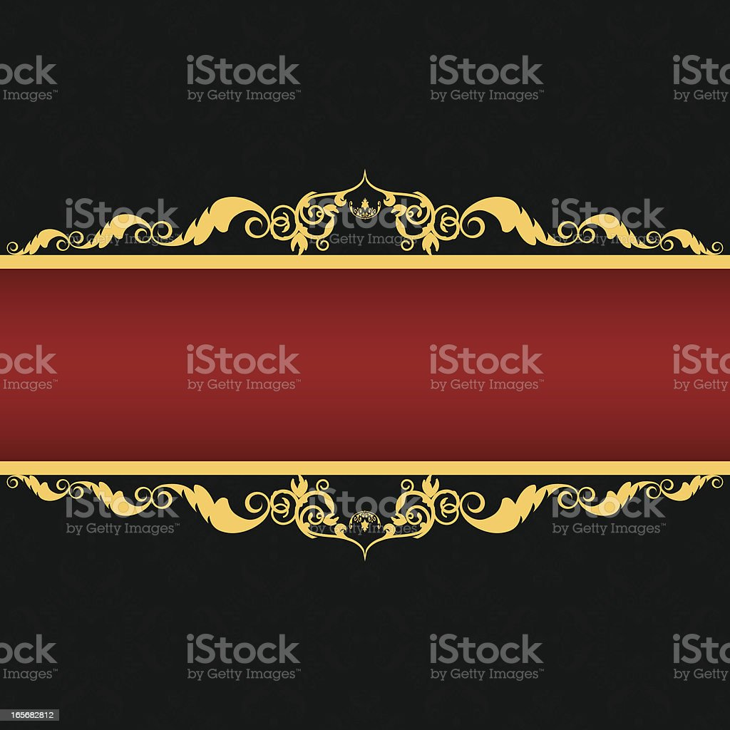Ornament Pattern and Border royalty-free stock vector art