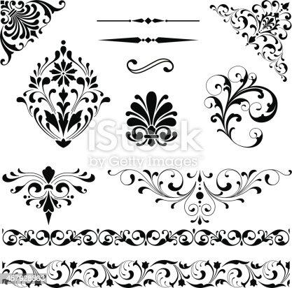 istock Ornament Set 457928863