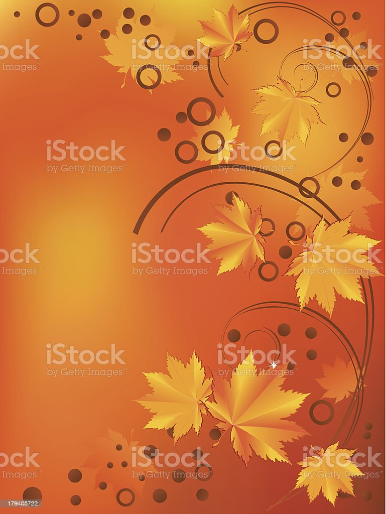 Ornament with yellow leaves royalty-free ornament with yellow leaves stock vector art & more images of abstract