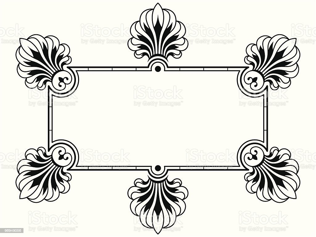 Ornamental Border, design element royalty-free ornamental border design element stock vector art & more images of abstract