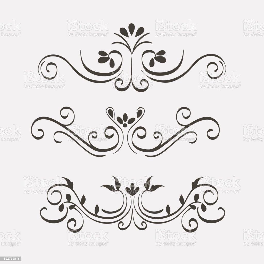 Dekorative Grenzen Design Stock Vektor Art und mehr Bilder von ...