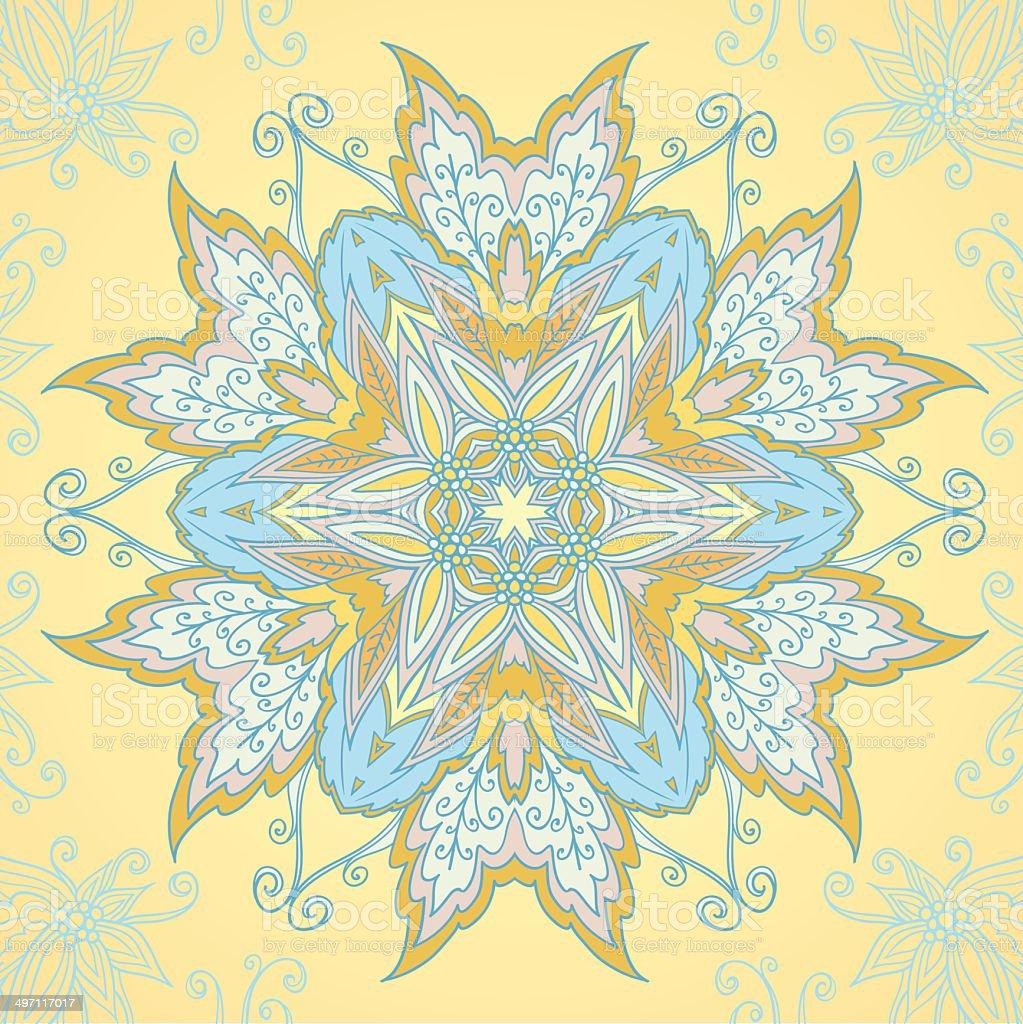 Ornamental circle mandala royalty-free ornamental circle mandala stock vector art & more images of abstract