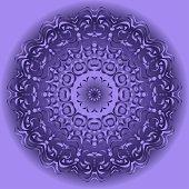 Ornamental circle pattern. Mandala. Vintage decorative elements. Hand drawn colorful vector background. for design