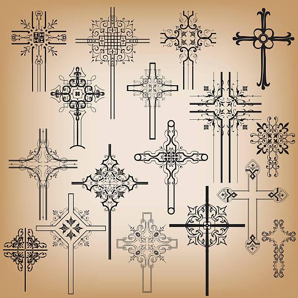 illustrations, cliparts, dessins animés et icônes de ornement traverse - tatouages celtiques