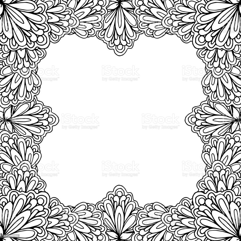 Ornamental floral frame with space for text, greeting card template royalty-free ornamental floral frame with space for text greeting card template stock vector art & more images of abstract