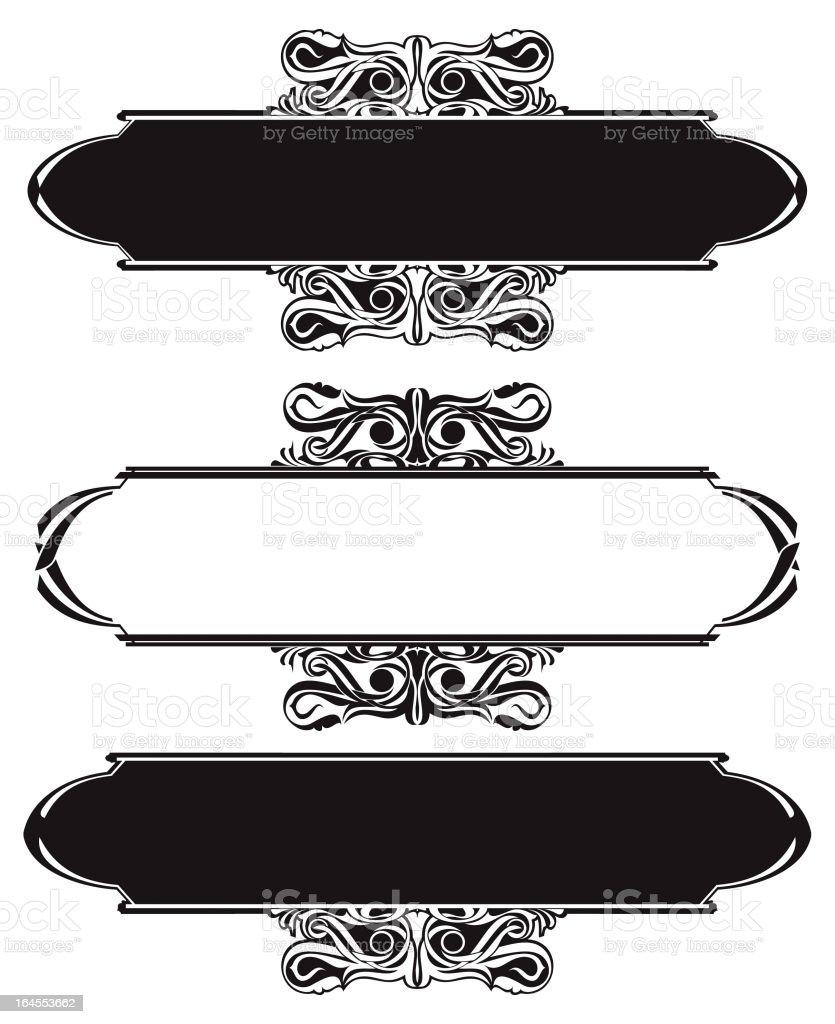 Ornamental Frame (Vector) royalty-free stock vector art