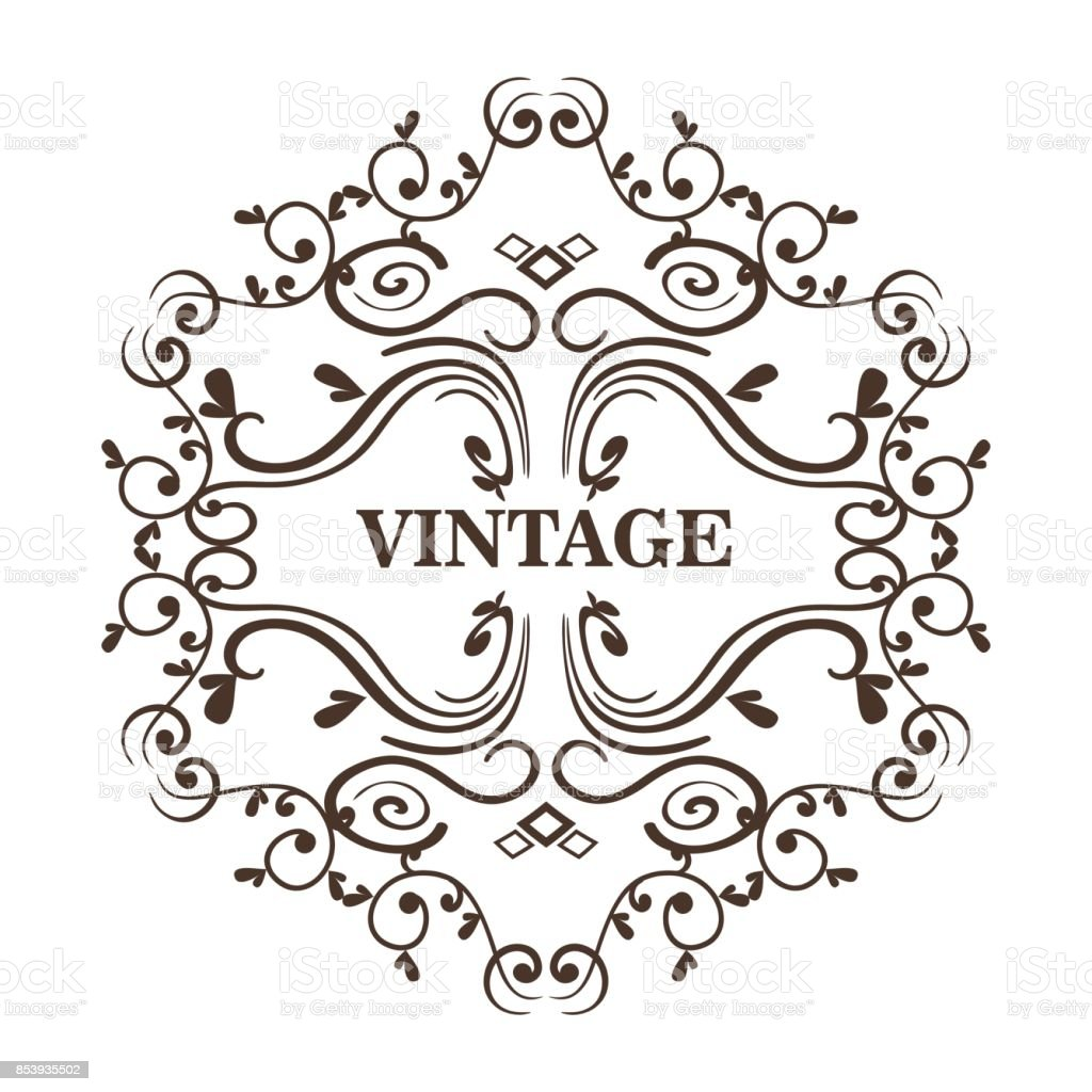 Ornamental Frames Design Stock Vector Art & More Images of Art ...