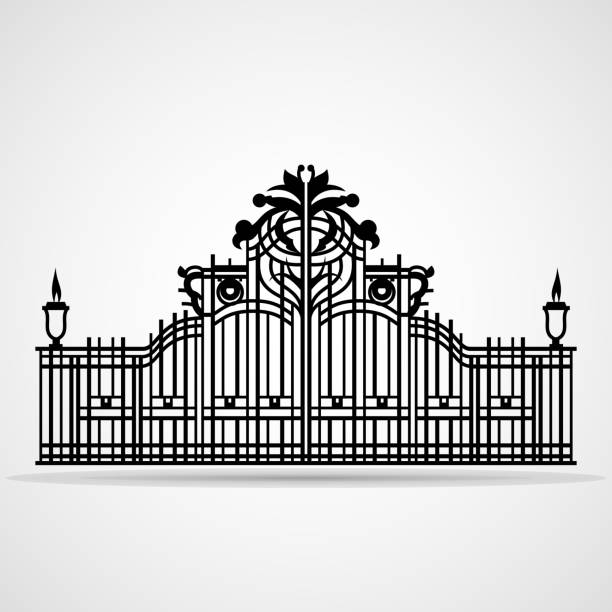 Cemetery Gates Clipart 5 By Tara - Bioshock Infinite Downtown Emporia -  Free Transparent PNG Clipart Images Download