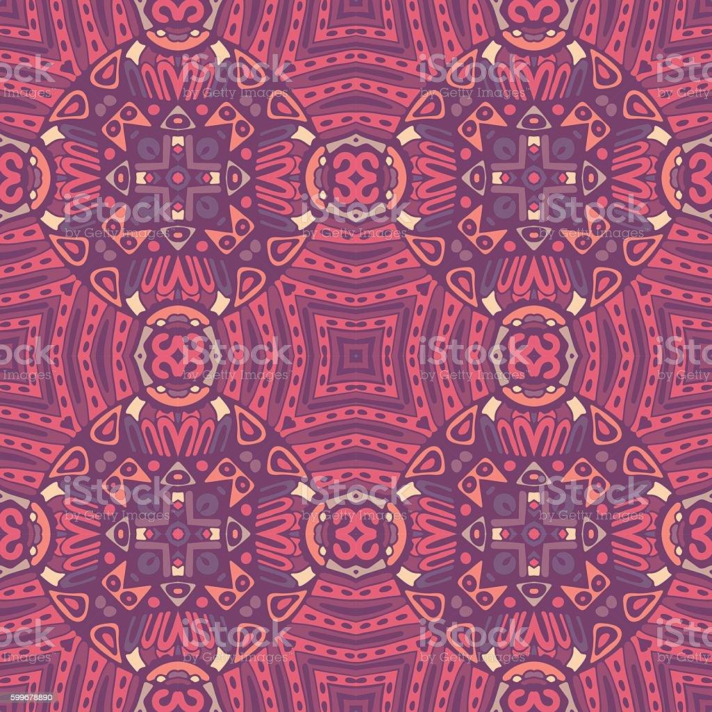 ornamental geometric seamless pattern vector art illustration