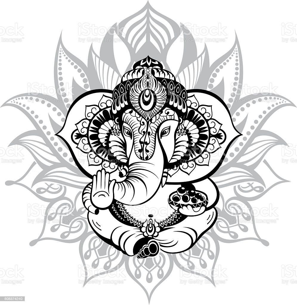 Ornamental God Ganesha
