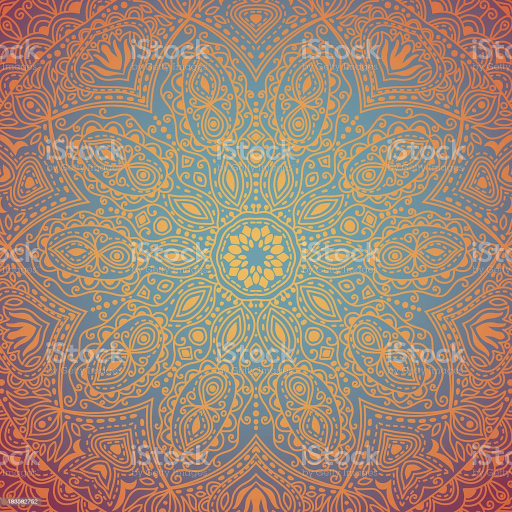 ornamental lace pattern, royalty-free stock vector art