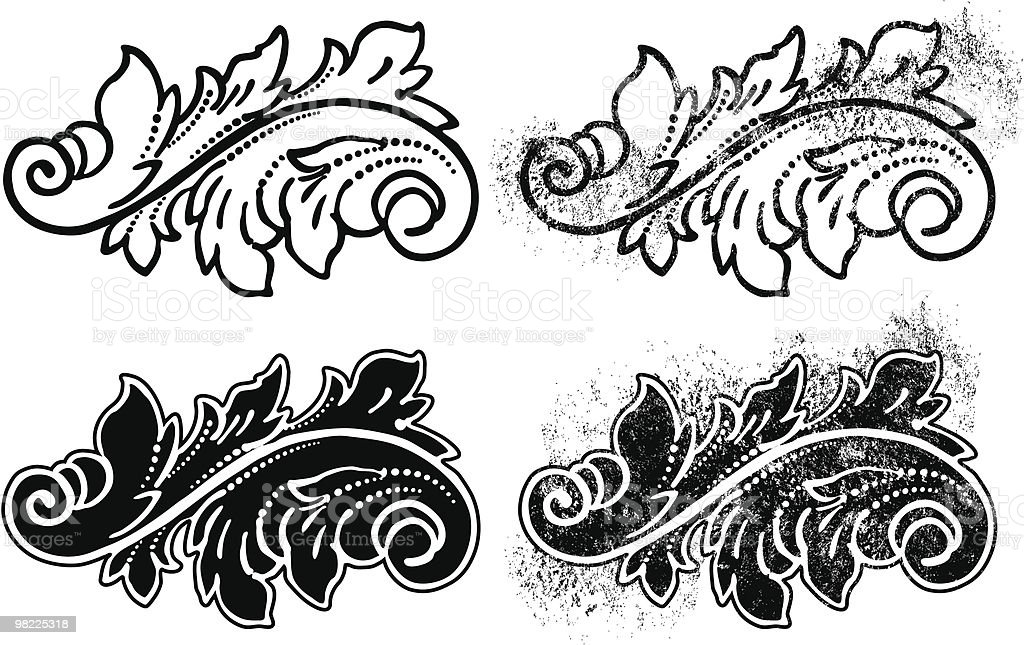 Ornamental Leafy Flourish royalty-free ornamental leafy flourish stock vector art & more images of art nouveau