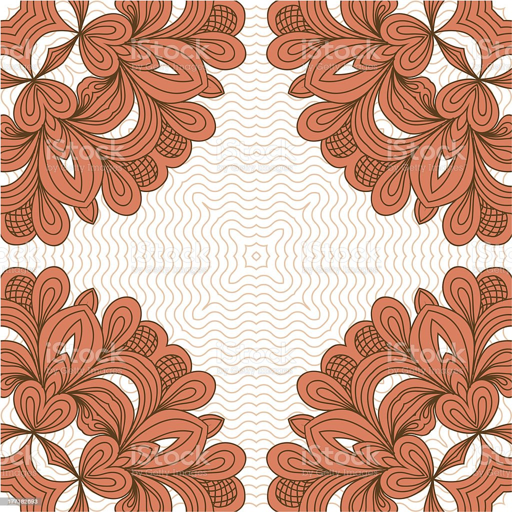 Ornamental pattern royalty-free stock vector art