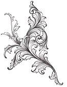 Ornamental Scroll Growth